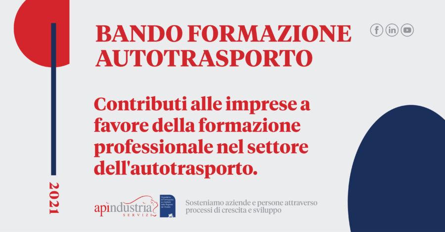 Bando Ministero Trasporti formazione settore autotrasporto