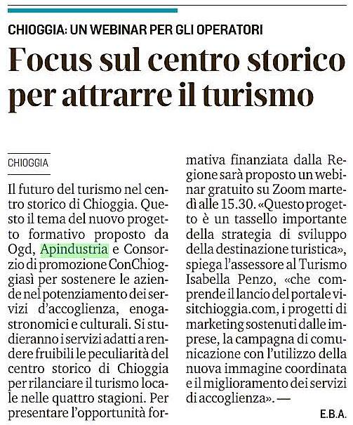 2021_04_24_La_Nuova_di_Venezia_e_Mestre_pag.28_Chioggia_Focus_sul_centro_storico_per_attrarre_il_turismo