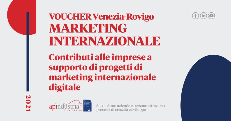 Voucher marketing internazionale CCIAA VE-RO
